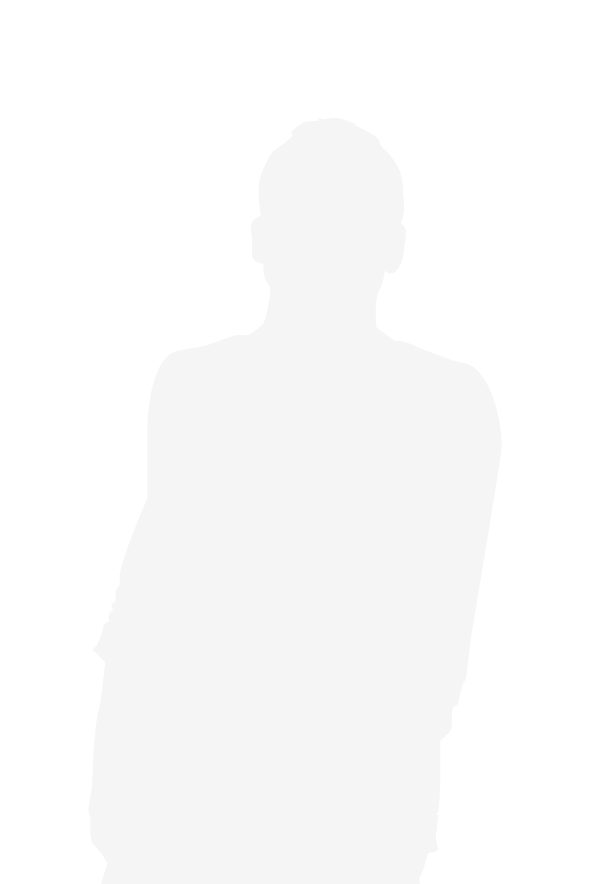 Male silhouette tall