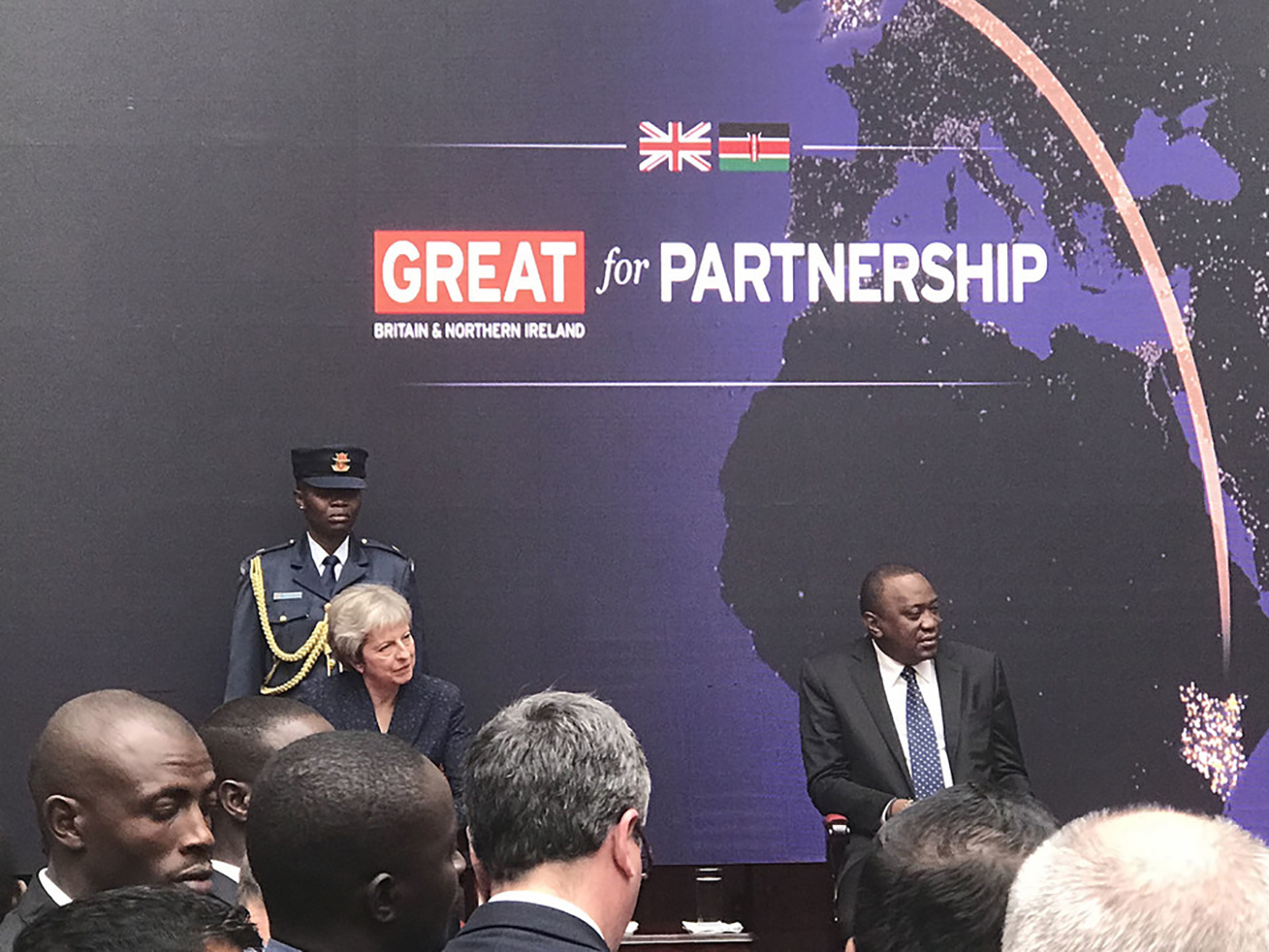 A Postcard From Kenya: Accompanying The UK Prime Minister on a Trade Mission