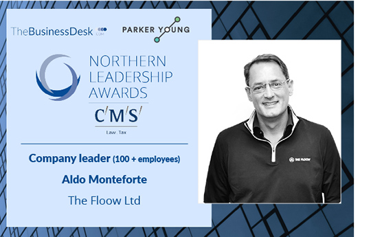 Aldo Monteforte named Company Leader at 2019's Northern Leadership Awards