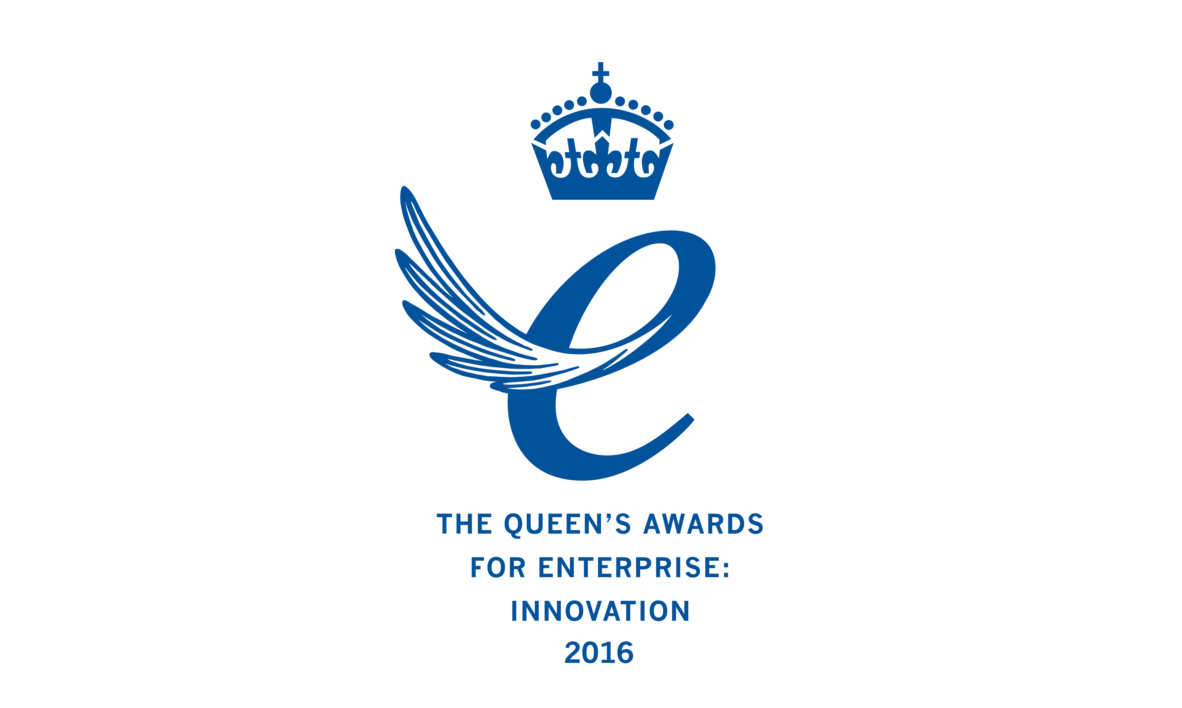 queen's award for enterprise innovation 2016 emblem