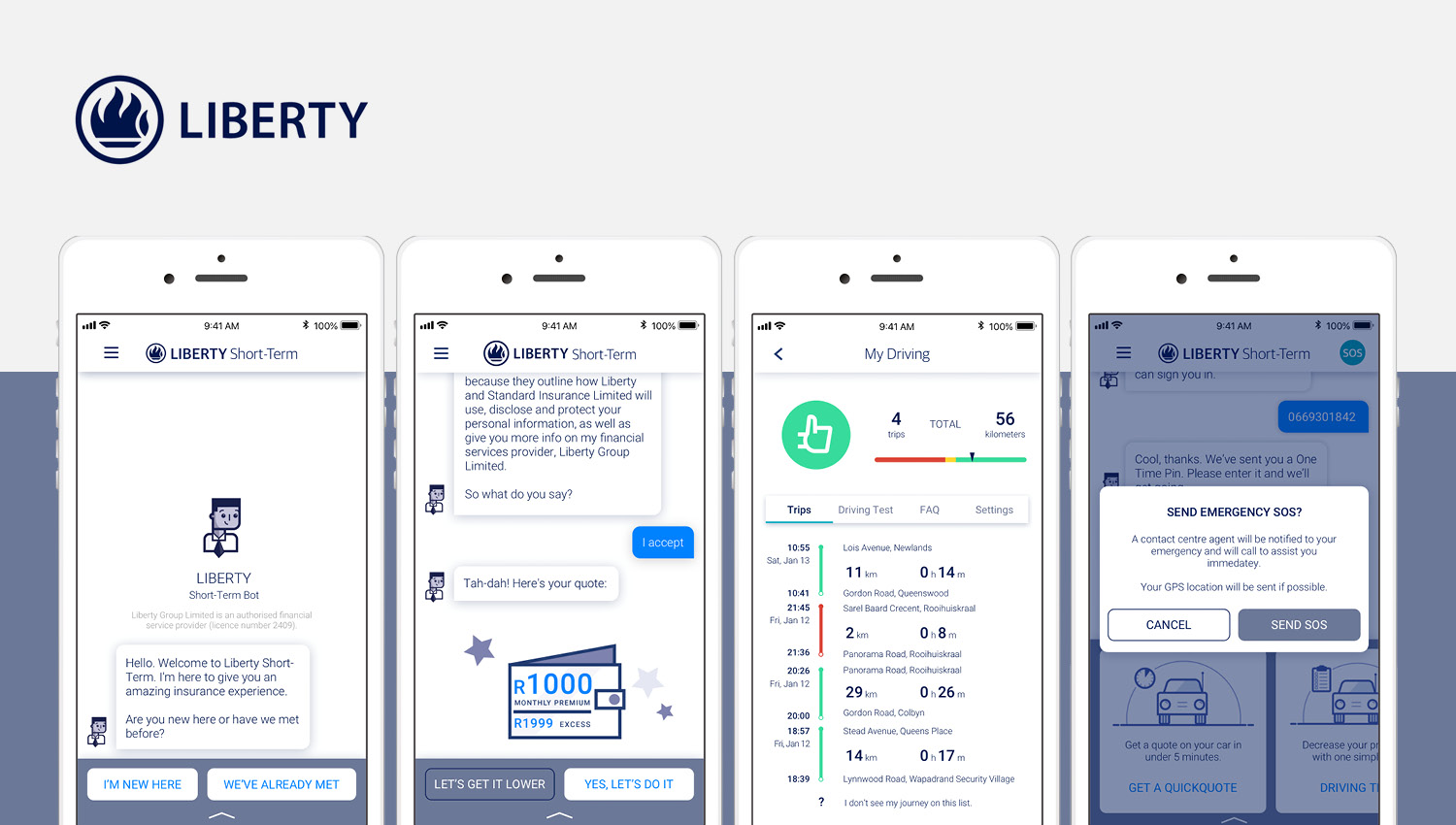 Liberty in Partnership with The Floow Launches Groundbreaking Telematics Proposition in South Africa
